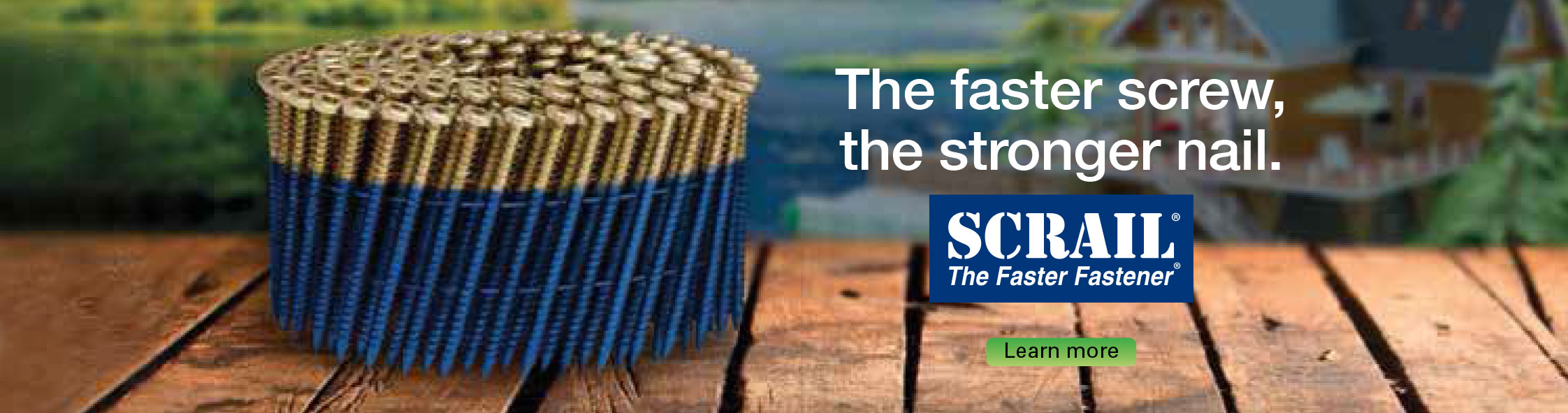 SCRAIL® Timber Fixing